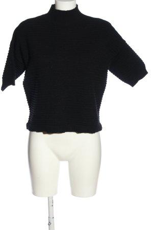 Joseph Ribkoff Short Sleeve Sweater black casual look
