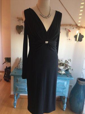 Joseph Ribkoff Schwarzes Elegantes Kleid Größe 38
