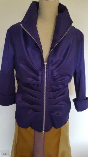 Joseph Ribkoff Blouse Jacket dark violet