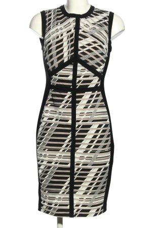 Joseph Ribkoff Stretchkleid schwarz-weiß Streifenmuster Casual-Look