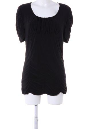 Joseph Ribkoff T-Shirt schwarz Casual-Look