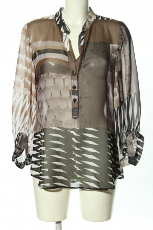 Joseph Ribkoff Transparenz-Bluse abstraktes Muster Casual-Look