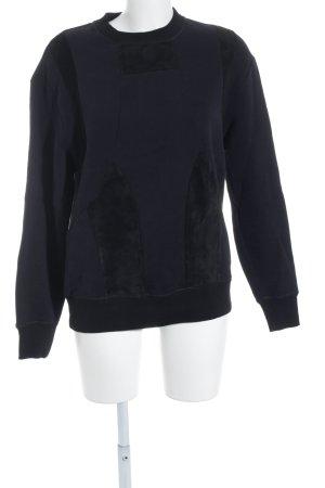 Joseph Sweatshirt schwarz Casual-Look