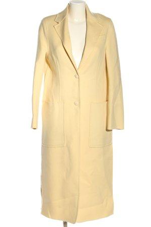 Joseph Manteau en laine jaune clair style décontracté
