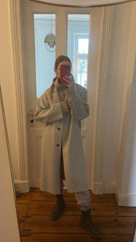 Joseph Manteau en laine gris clair laine