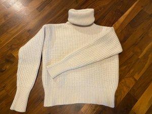 Joseph Pull tricoté blanc cassé laine