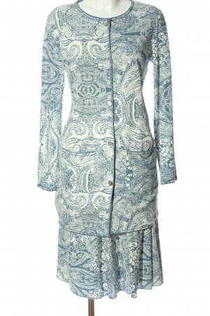 Josephine & Co. Dzianinowy podwójny zestaw  niebieski-biały W stylu casual