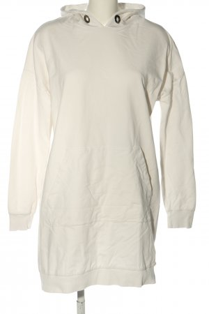 JOSS Vestido de tela de sudadera crema look casual