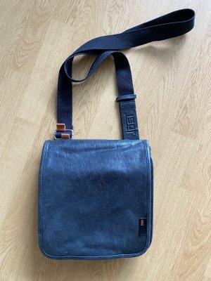 Jost Echtleder-Handtasche schwarz