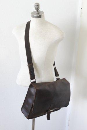 JOST Messenger Bag Schultasche Lehrertasche Schultertasche Leder