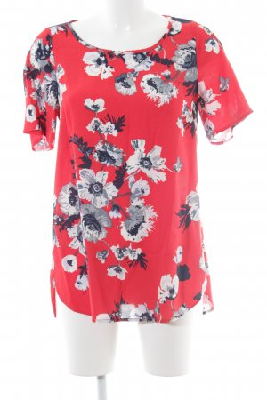 Joules Kurzarm-Bluse Blumenmuster Casual-Look