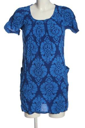 Joules Blusa a tunica blu motivo astratto stile casual