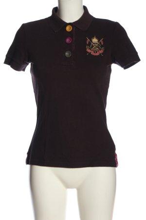 Joules Polo-Shirt braun sportlicher Stil