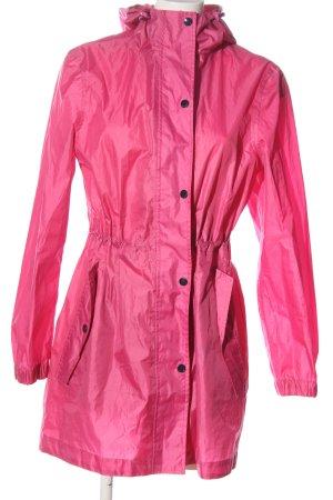 Joules Płaszcz przeciwdeszczowy różowy W stylu casual