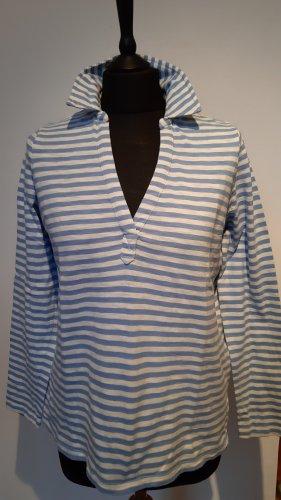 Joules Maglietta a righe blu fiordaliso-bianco Cotone