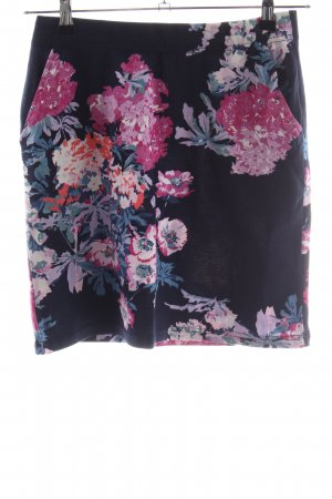 Joules Stretch rok bloemenprint casual uitstraling