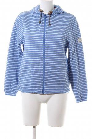 Joules Sweat Jacket blue-white allover print casual look