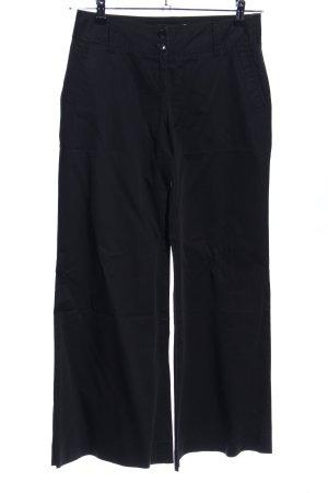 Pantalón anchos negro look casual