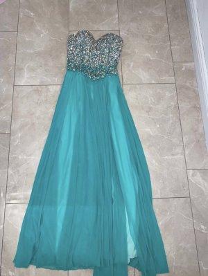 Jovani Ball Dress light blue-turquoise