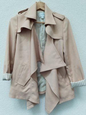 Jovonna London Jacke hellbeige