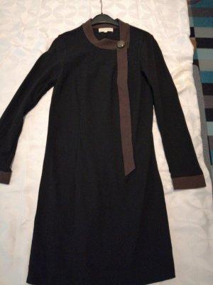 Jovovich hawk Robe en laine noir-brun