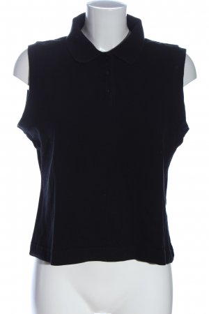 Joy Polo Top black casual look