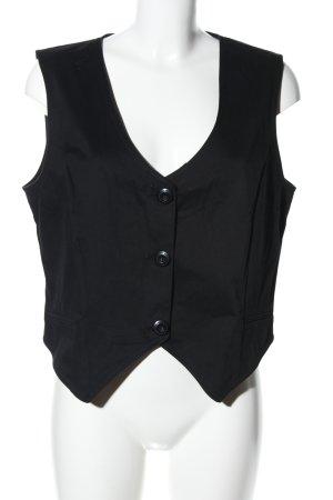 Joy Chaleco de vestir negro estilo «business»