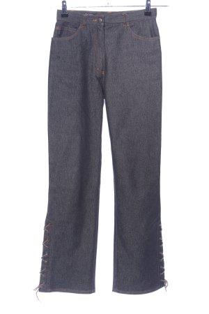 Joy Boot Cut Jeans hellgrau meliert Casual-Look