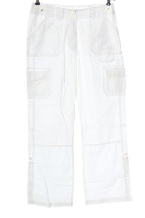 Joy Cargo Pants white casual look