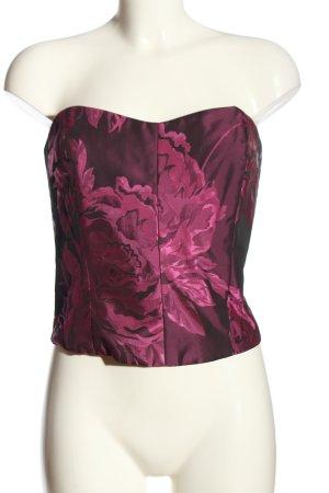Joy Haut type corsage rose motif de fleur élégant