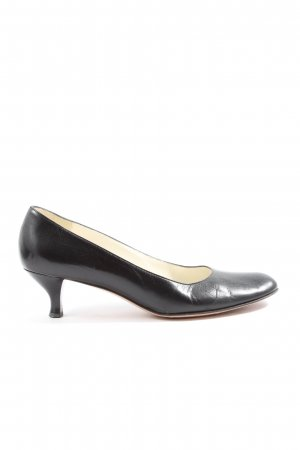 Joy Harper Chaussure à talons carrés noir style décontracté