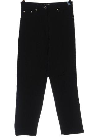 Joy High Waist Trousers black casual look