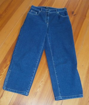 Joy 7/8 Length Jeans blue cotton