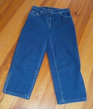 Joy Jeans 7/8 bleu coton