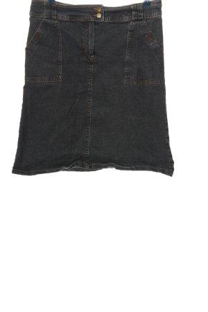 Joy Denim Skirt black casual look