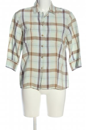 Joy Checked Blouse check pattern casual look