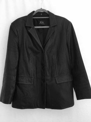 Joy Leather Blazer black