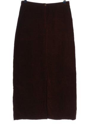 Joy Maxi Skirt brown casual look