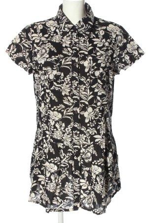 Joy Minikleid schwarz-weiß Allover-Druck Casual-Look