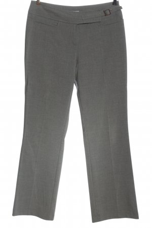 Joy Jersey Pants light grey flecked casual look