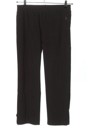 Joy Jersey Pants black casual look