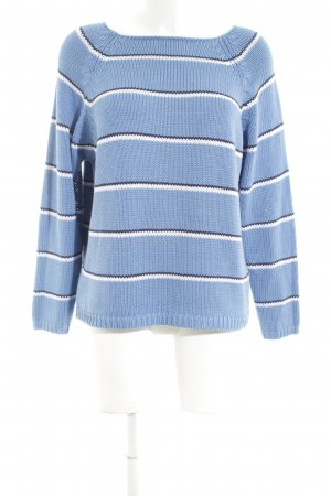 Joy Strickpullover Streifenmuster Casual-Look