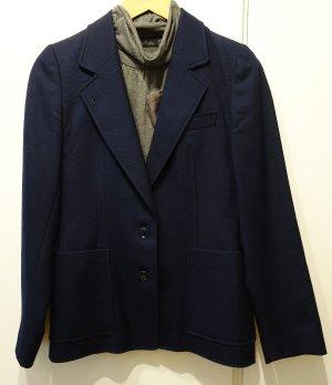 Joy Blazer de lana azul oscuro