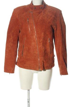 Joy Between-Seasons Jacket brown casual look