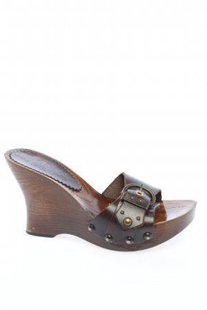 Joy Wendel Clog Sandals brown casual look
