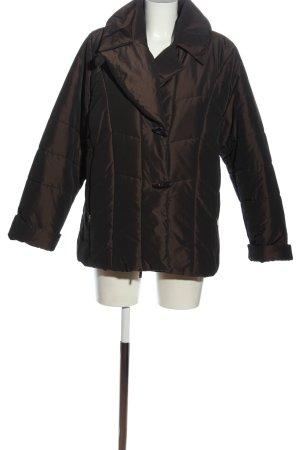 Joy Winter Jacket brown quilting pattern casual look