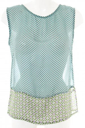 Joyce & Girls Blusentop Allover-Druck Casual-Look