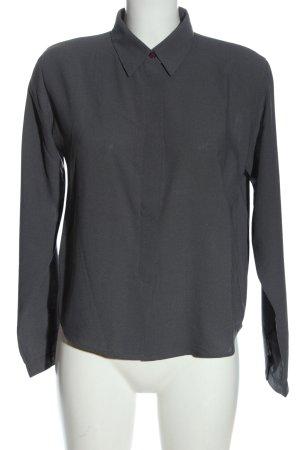 JP Collection Langarmhemd hellgrau Business-Look