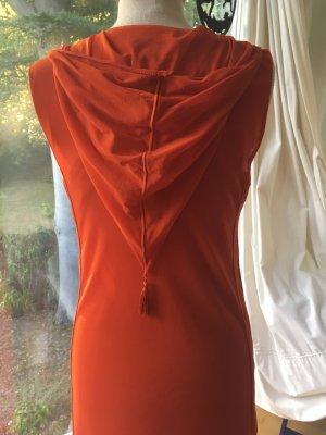 Jean Paul Gaultier Maxi abito arancio neon