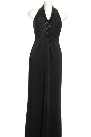JS Boutique Neckholderkleid schwarz Elegant